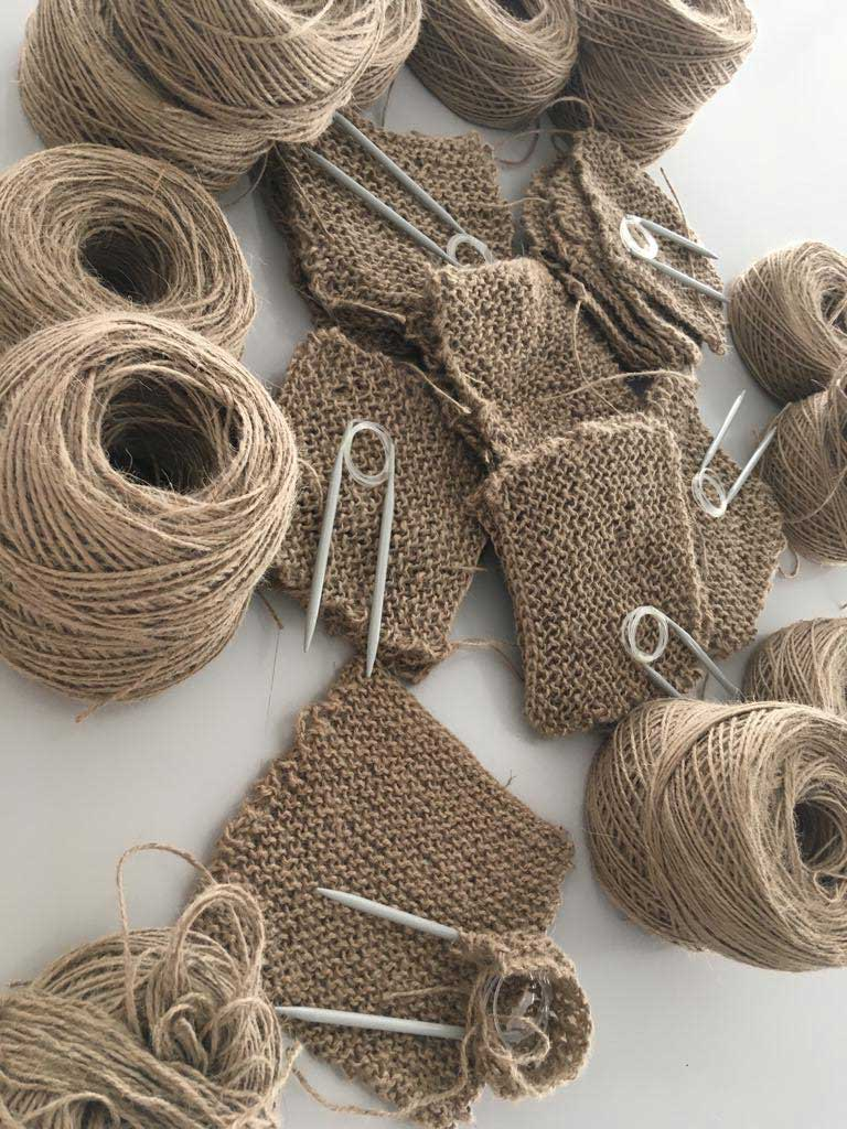 Jute yarns and Verdonce sustainable scrubbing cloth