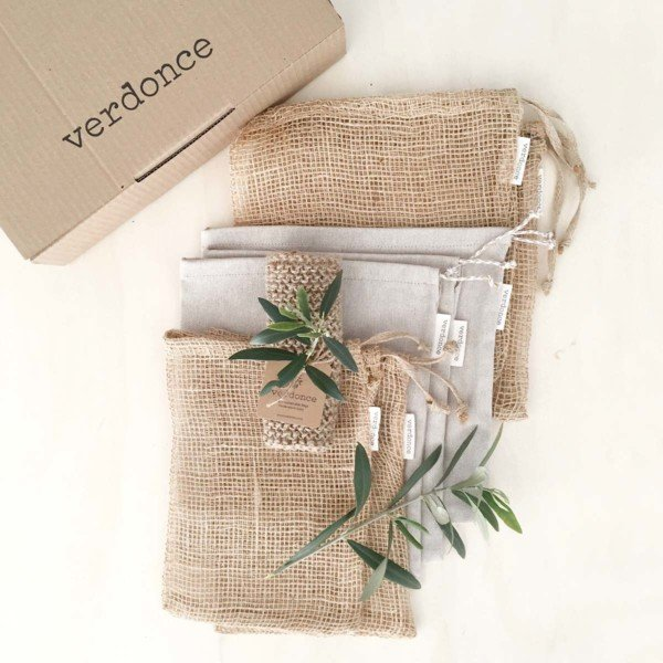 reusable produce bags and verdonce box
