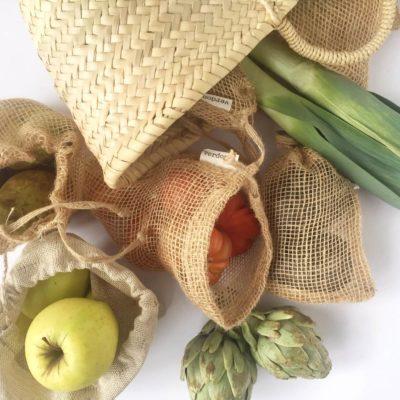 Cómo hacer fácilmente tu compra de alimentos sin bolsas de plástico o envases