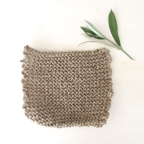 Estropajo natural de fibra de yute