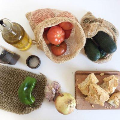 Consejos zero waste para hacer gazpacho