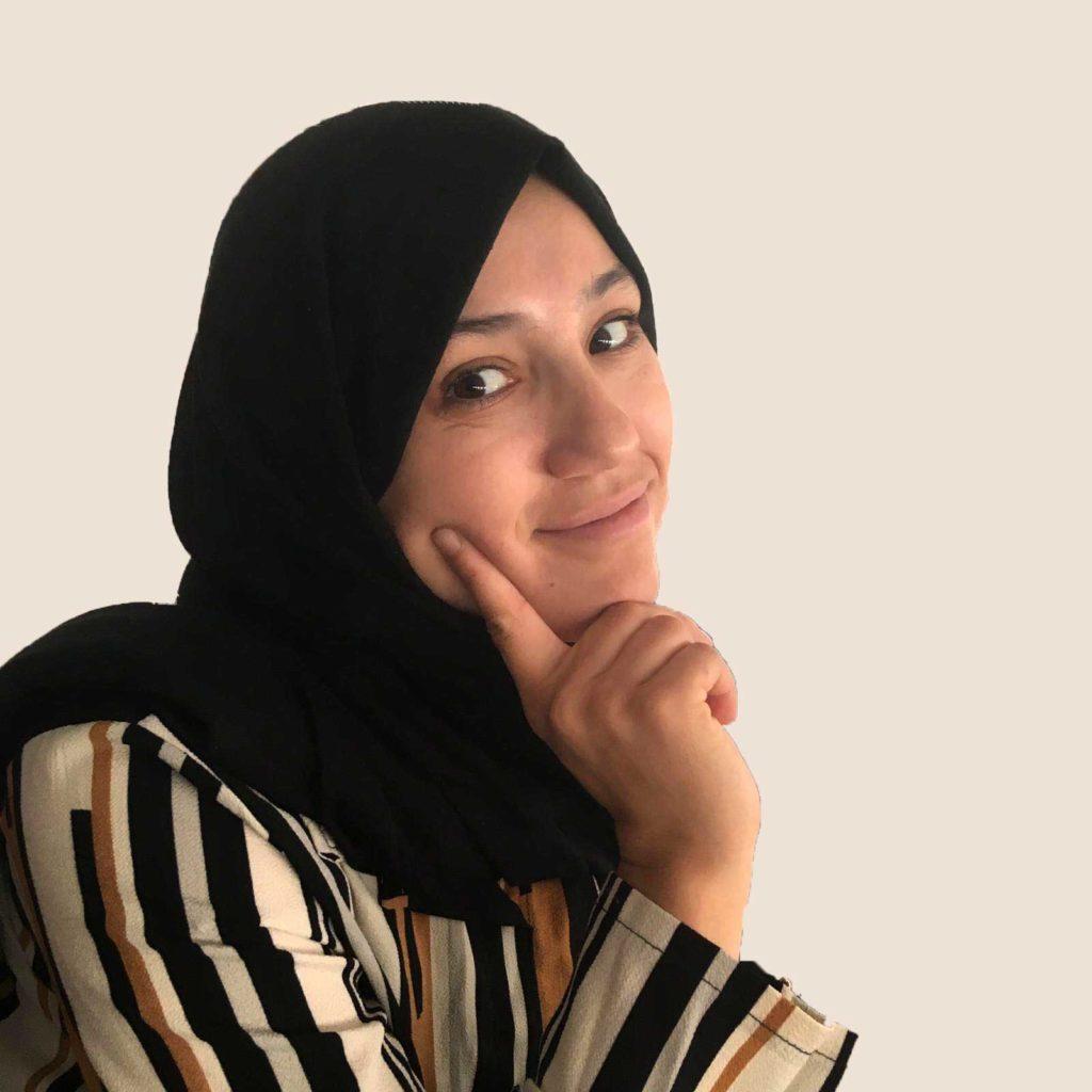 Mujer del proyecto Tejiendo un futuro