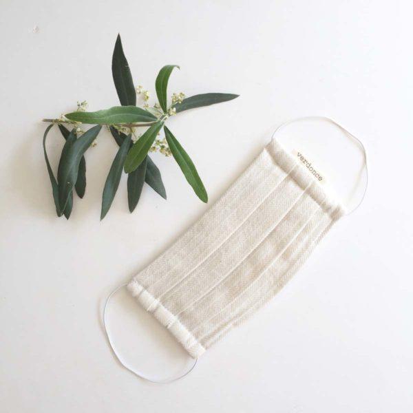 Mascarilla de tela sostenible verdonce