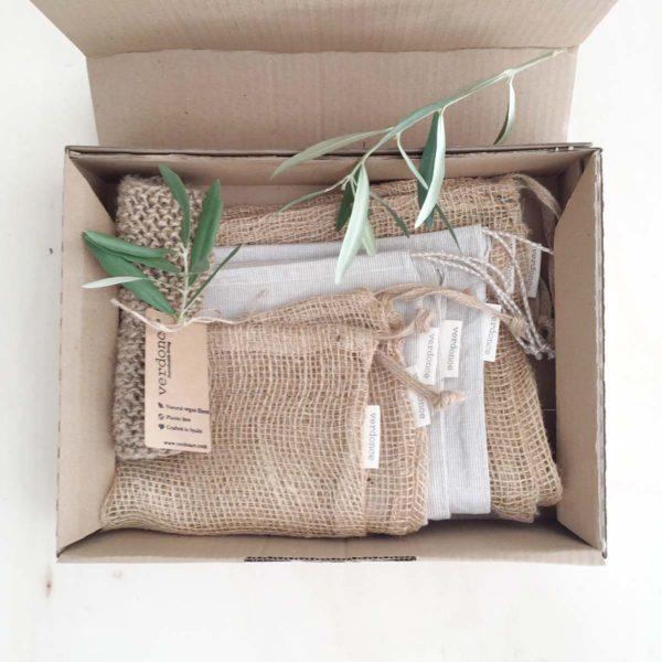 Contenidos del pack de cocina sostenible de verdonce